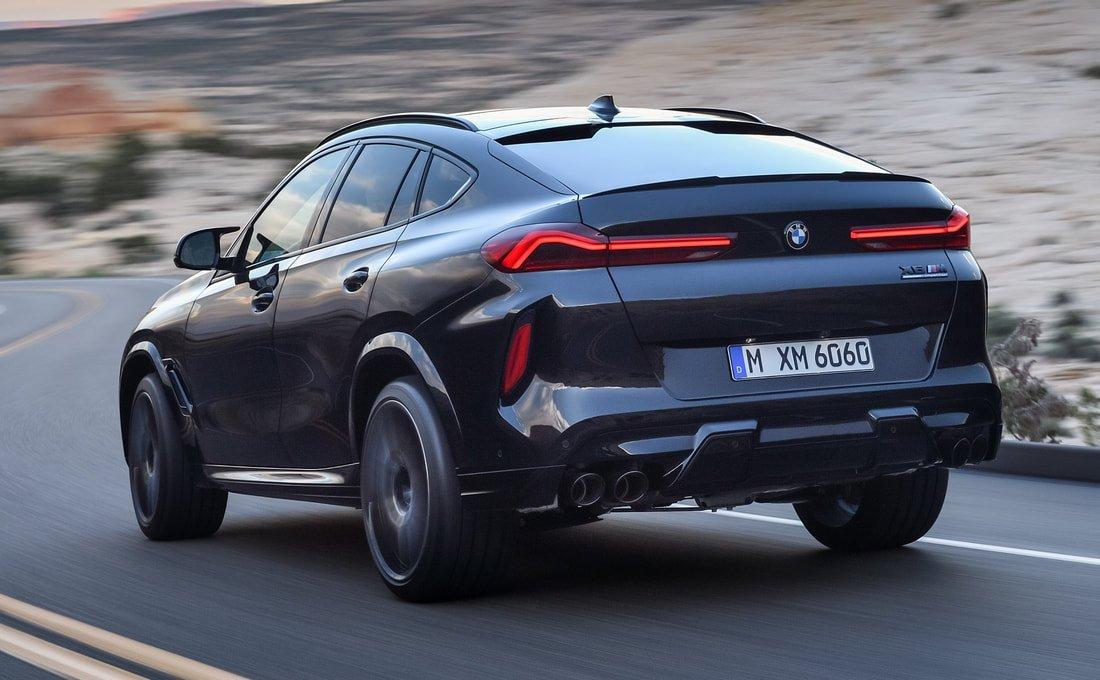 Ngoại thất xe BMW X6 2020