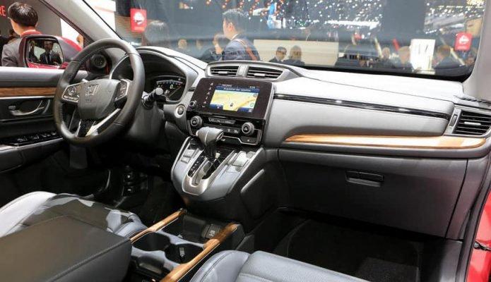 Nội thất xe Honda CRV 2020