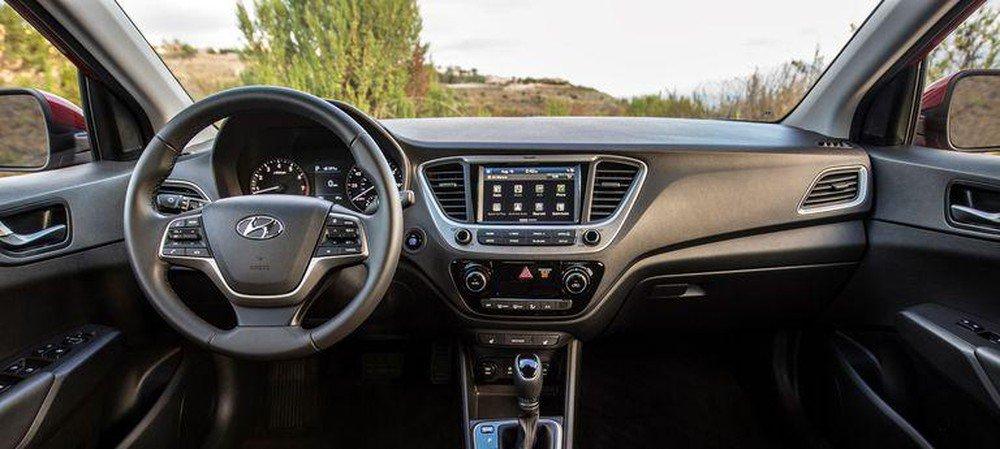 Nội thất xe Hyundai Accent 2020