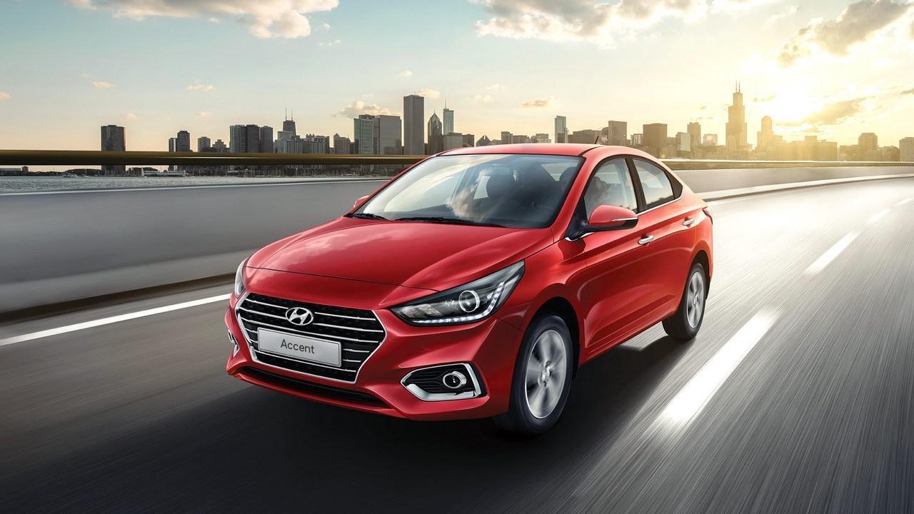 Ngoại thất xe Hyundai Accent 2020