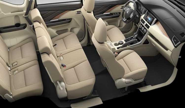 Nội thất xe Mitsubishi Xpander 2020