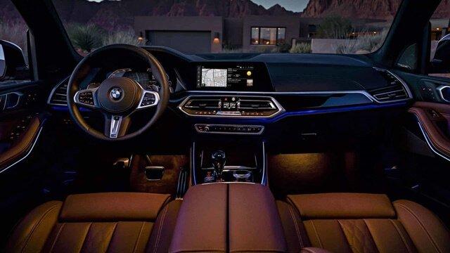 Nội thất xe BMW X5