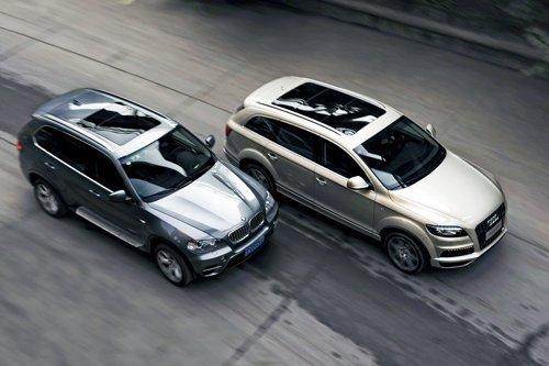 So sánh xe BMW X5 với Audi Q7