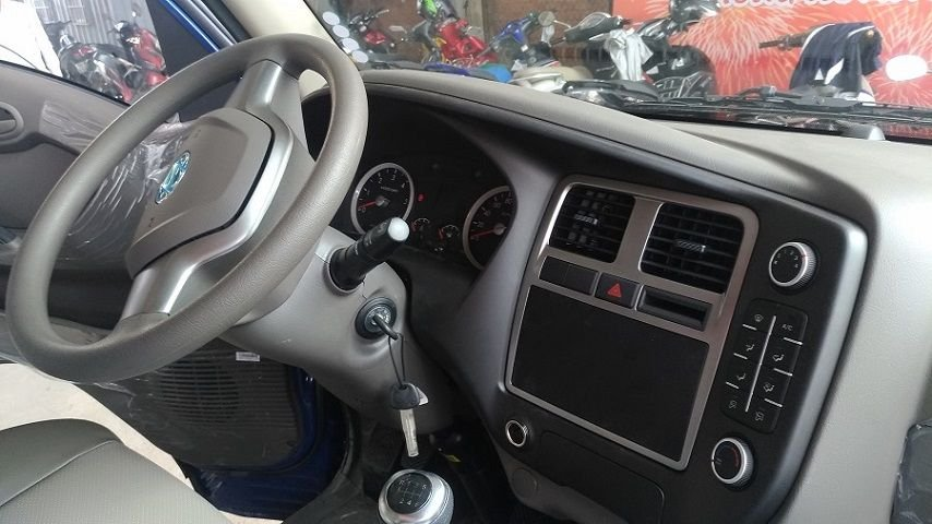 Nội thất xe Hyundai Porter 150