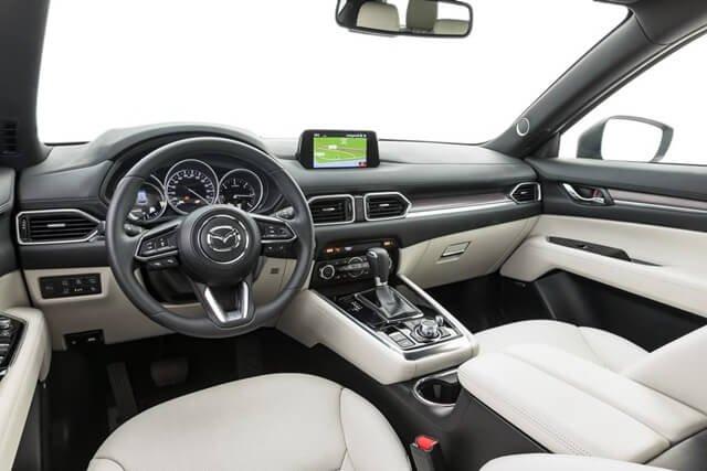 Nội thất xe Mazda CX-8