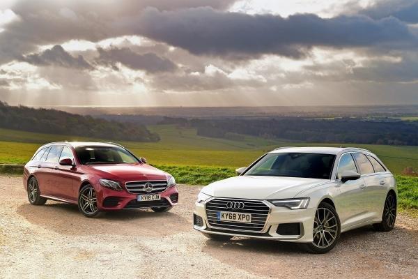 So sánh xe Mercedes-Benz E200 với Audi A6