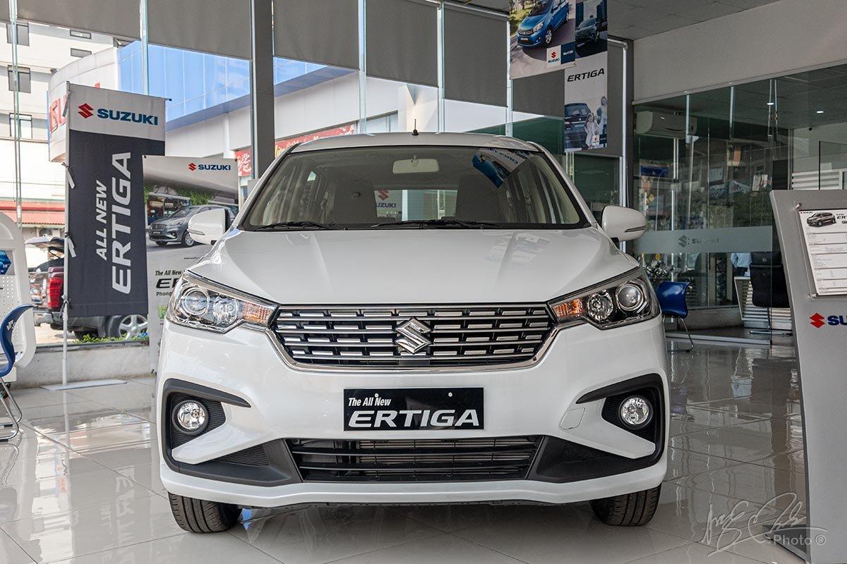 Đánh giá xe Suzuki Ertiga 2020: Thiết kế đầu xe.