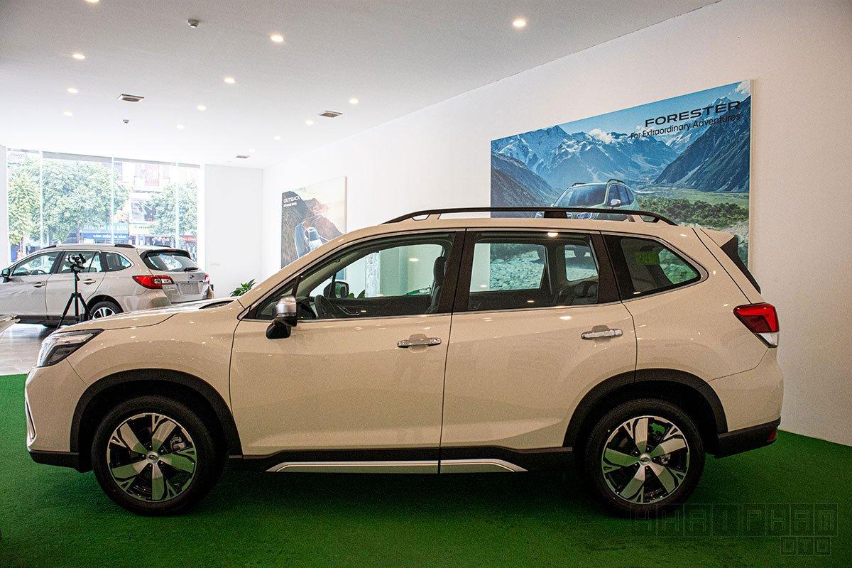 Thông số kỹ thuật xe Subaru Forester 2020 mới nhất tại Việt Nam 2a