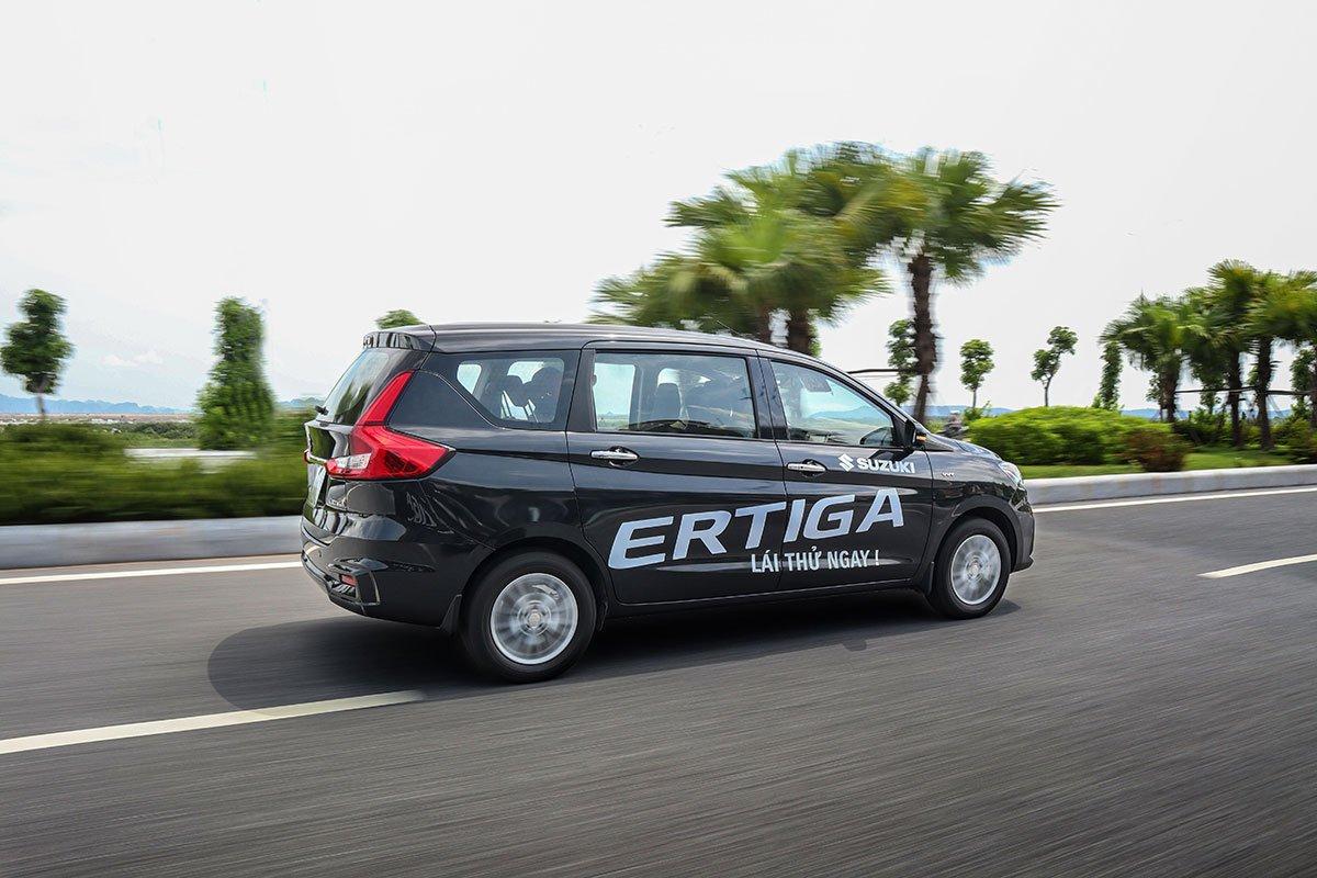 Đánh giá xe Suzuki Ertiga 2020: Khả năng vận hành không có sự khác biệt so với mô hình cũ.