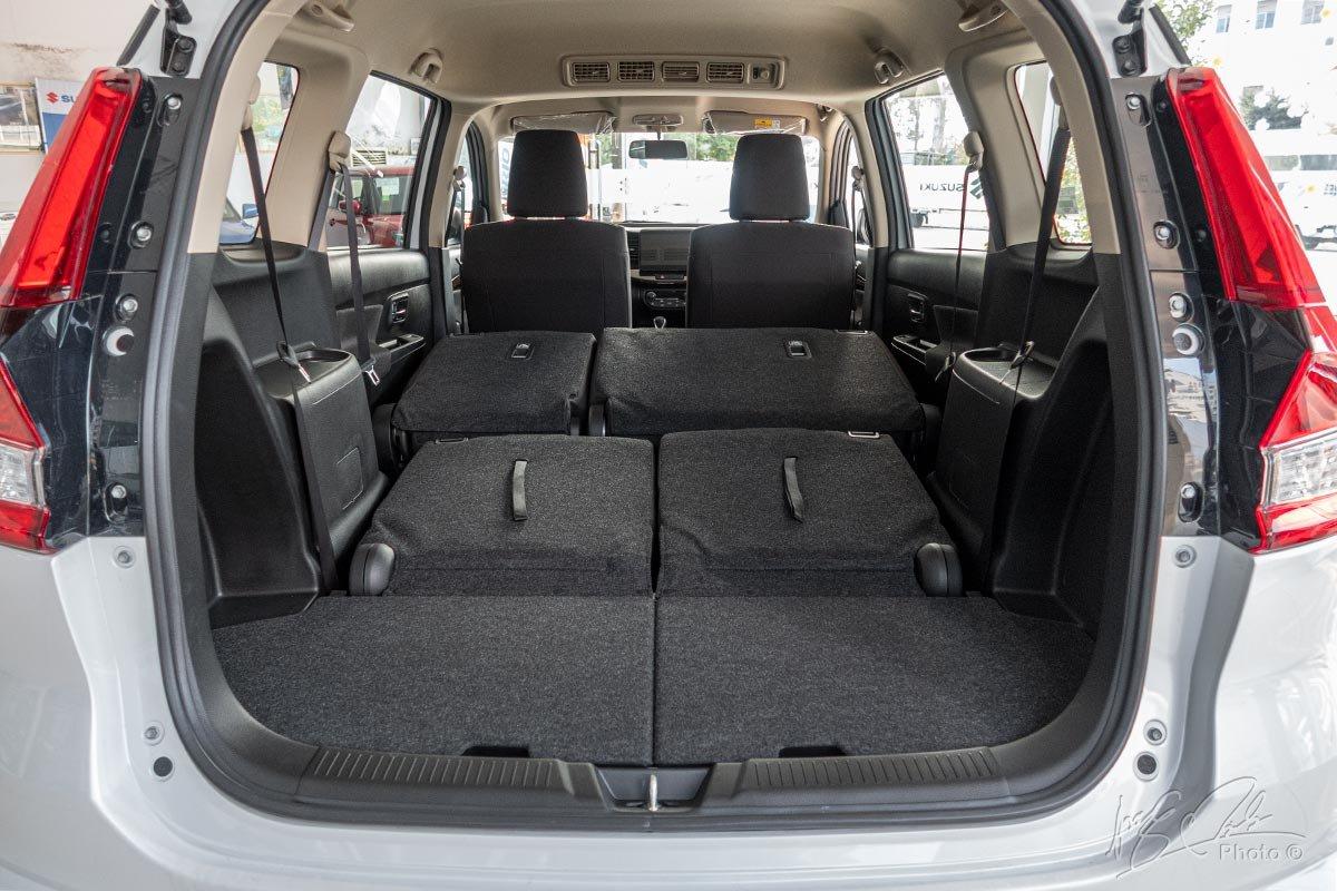 Đánh giá xe Suzuki Ertiga 2020: Khoang hành lý 1.