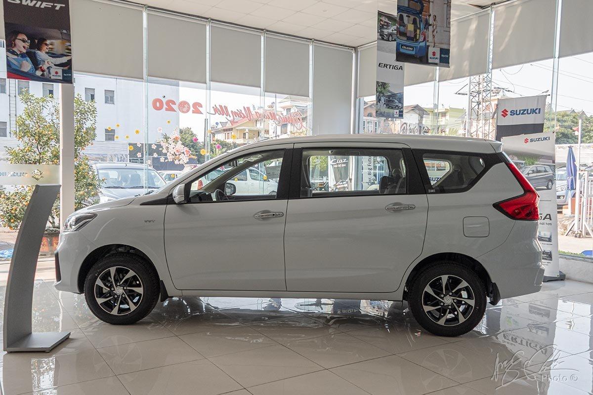 Đánh giá xe Suzuki Ertiga 2020: Thiết kế thân xe.