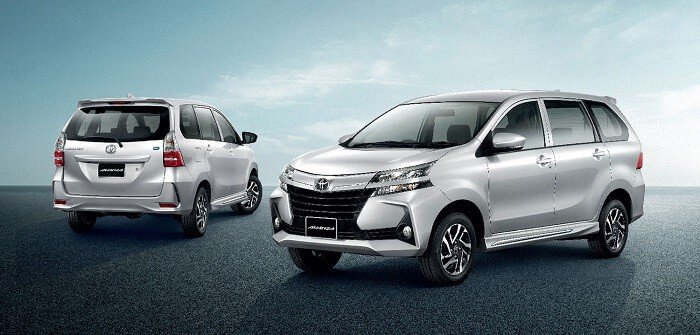 Ngoại thất xe Toyota Avanza 2020