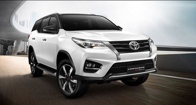 Xe Toyota Fortuner 2020
