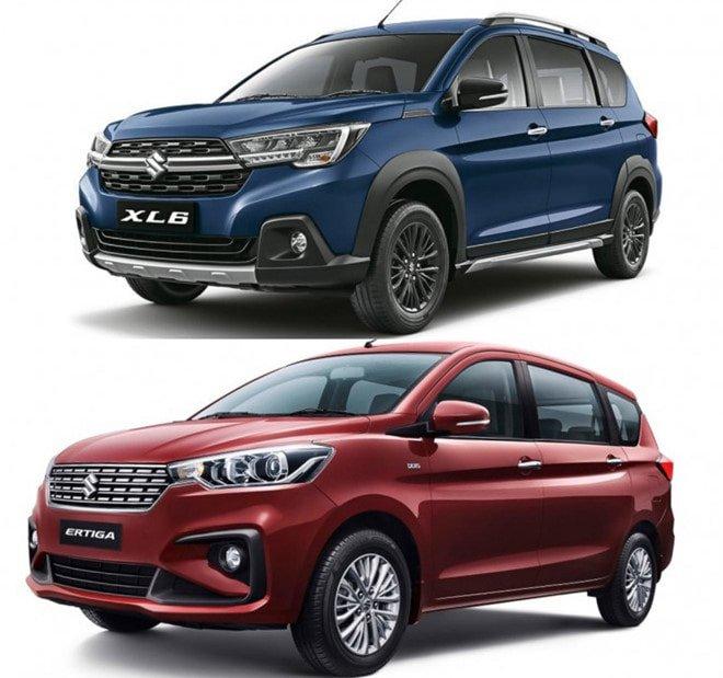 So sánh các tính năng của Suzuki XL7 và Ertiga mới.