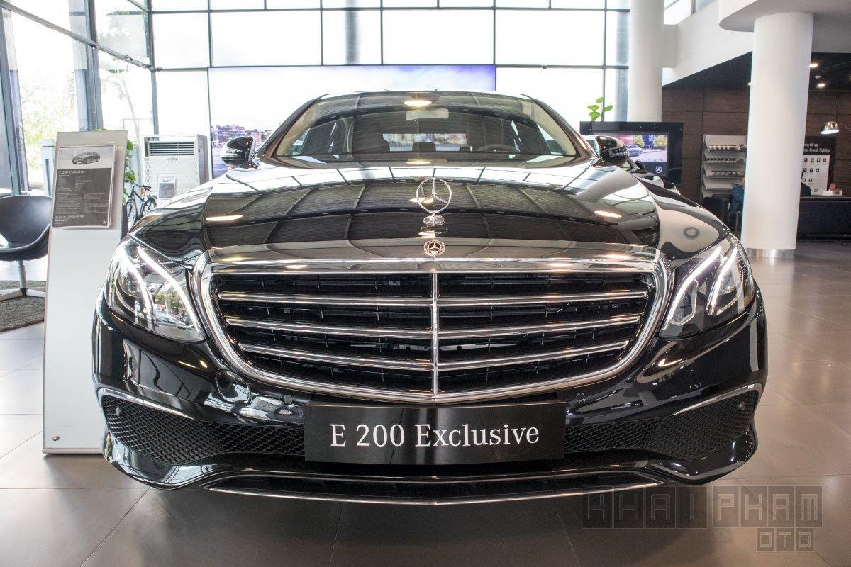 Ảnh chụp Đầu xe Mercedes-Benz E 200 Exclusive 2020