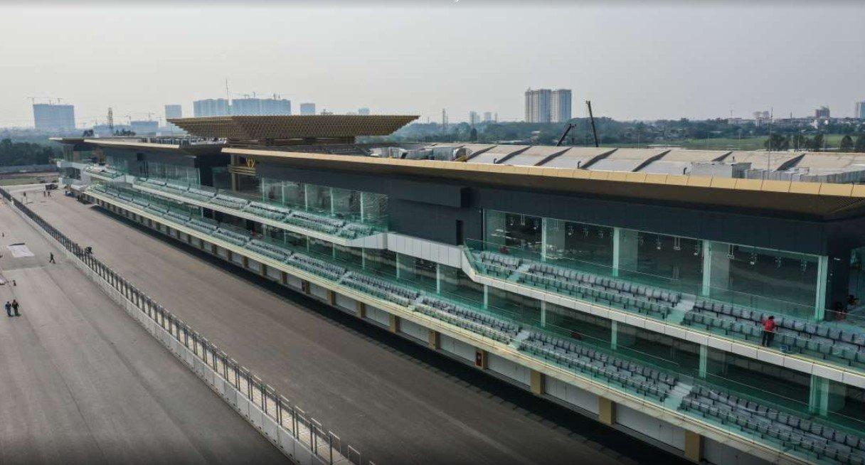 Đường đua công thức 1 Hà Nội dài 5.607 km sẵn sàng đi vào hoạt động a3