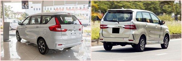 "So sánh xe Suzuki Ertiga 2020 và Toyota Avanza 2020: Ertiga ""ngon"" hơn nhiều! a2"