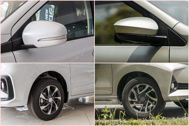 Thiết kế thân xe Toyota Avanza 2020