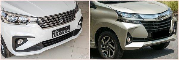Suzuki Ertiga 2020 và Toyota Avanza 2020