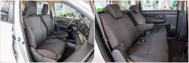 Ghế ngồi trên xe Suzuki Ertiga 2020 1