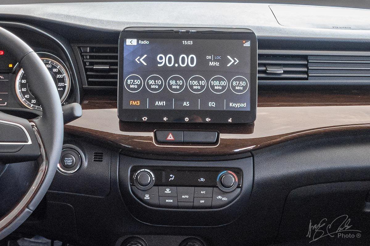 Trang bị tiện nghi trênSuzuki Ertiga 2020: Màn hình cảm ứng10 inch a1
