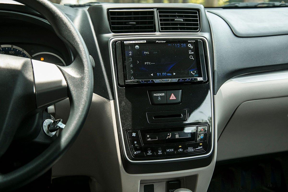 Trang bị tiện nghi trên xe Toyota Avanza 2020 1