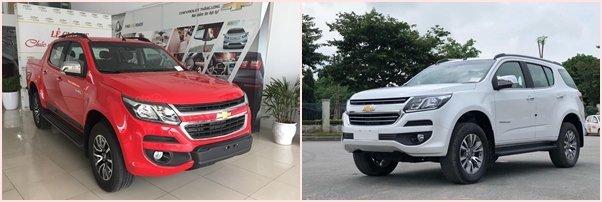 Chevrolet là Colorado vàTrailblazer đang bán tại Việt Nam là xe nhập khẩu nguyên chiếc từ Thái Lan 1