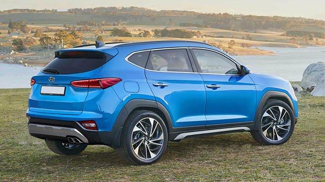 Ngoại thất xe Hyundai Tucson 2020