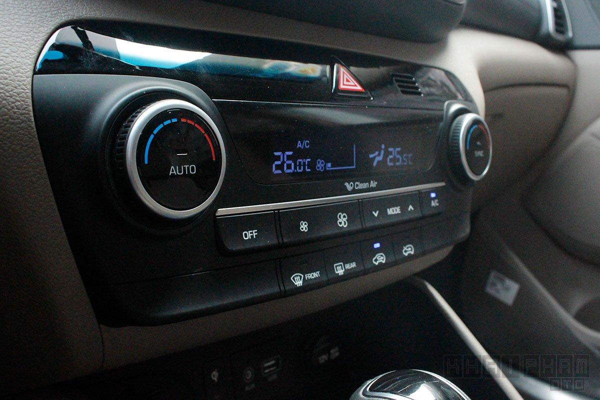 Hình ảnh Điều hoà tự động xe Hyundai Tucson 2020: