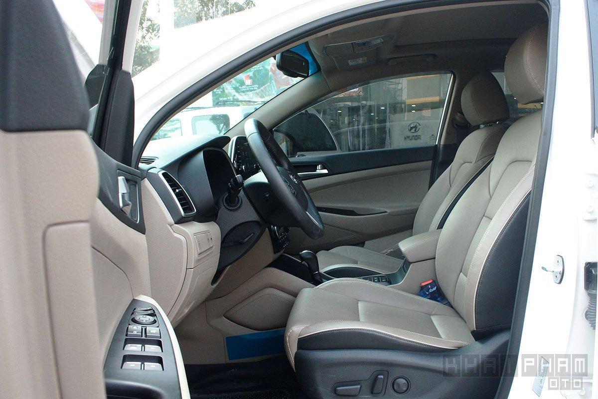 Hình ảnh ghế trước xe Hyundai Tucson 2020: