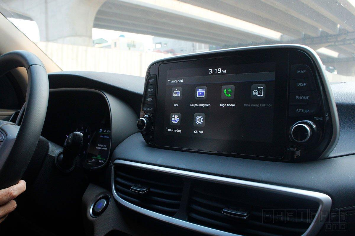 Hình ảnh màn hình giải trí xe Hyundai Tucson 2020: