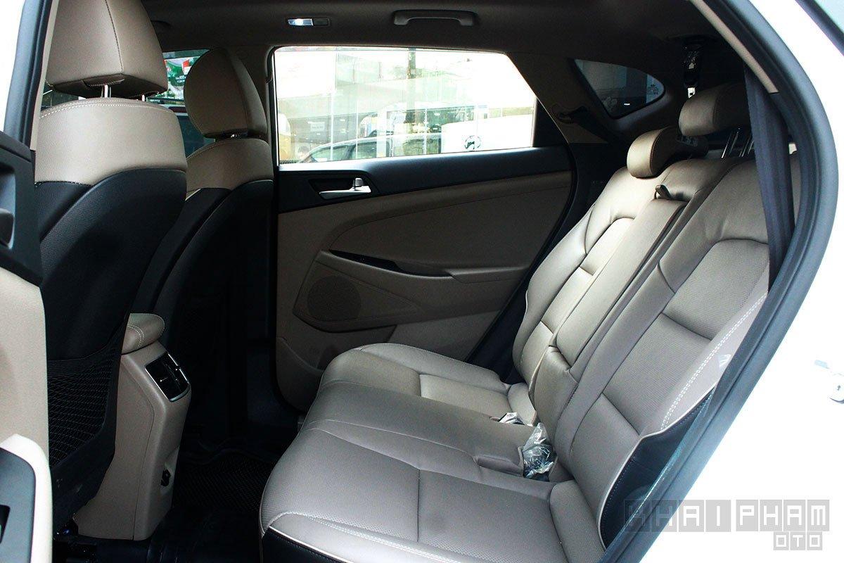 Hình ảnh ghế sau xe Hyundai Tucson 2020: