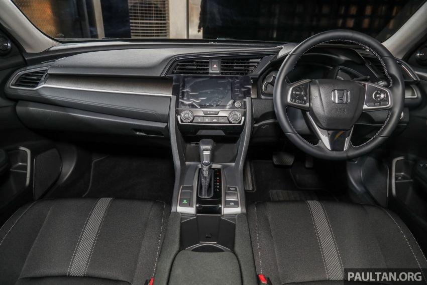 Honda Civic 2020 facelift tích hợp trang bị bổ sung.
