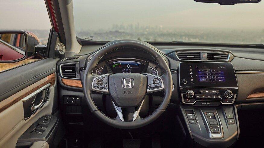 Honda CR-V 2020 Hybrid trang bị tiêu chuẩn cao cấp.