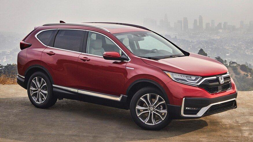 Honda CR-V 2020 Hybrid có đến 4 biến thể.