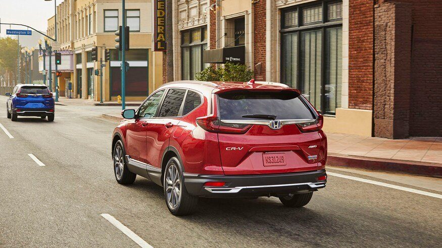 Honda CR-V 2020 Hybrid hứa hẹn độ tiêu thụ nhiên liệu hấp dẫn.