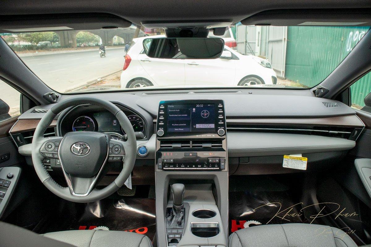 Ảnh chụp táp-lô xe Toyota Avalon 2020