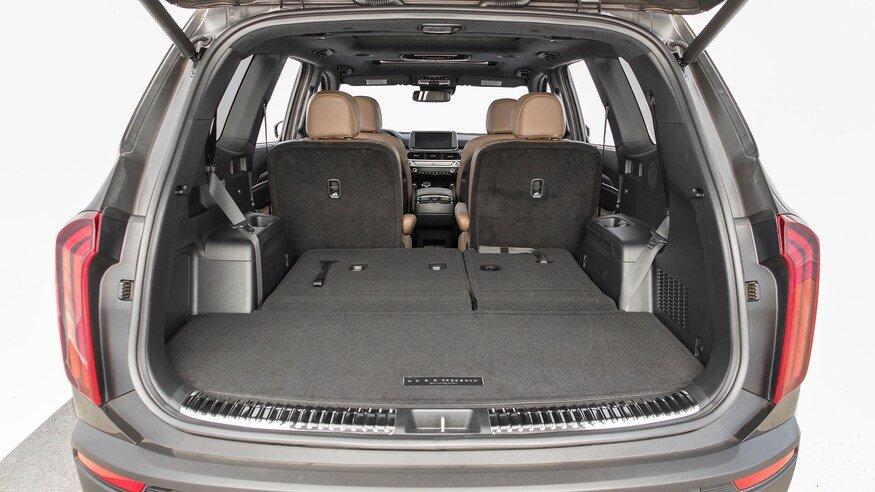 10 mẫu SUV ghế gập siêu rộng - Kia Telluride 2020 đa dụng.