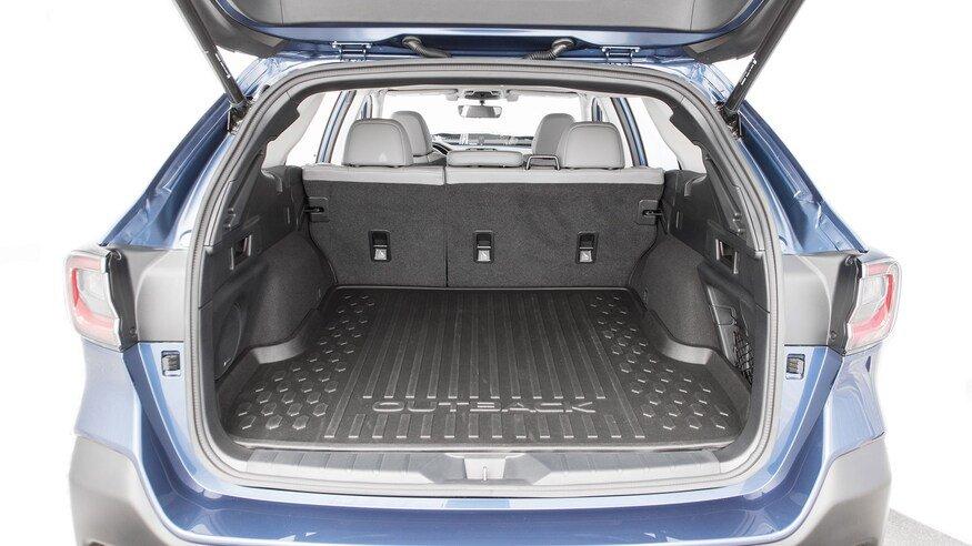 10 mẫu SUV ghế gập siêu rộng - Subaru Outback 2020 bát ngát không gian.
