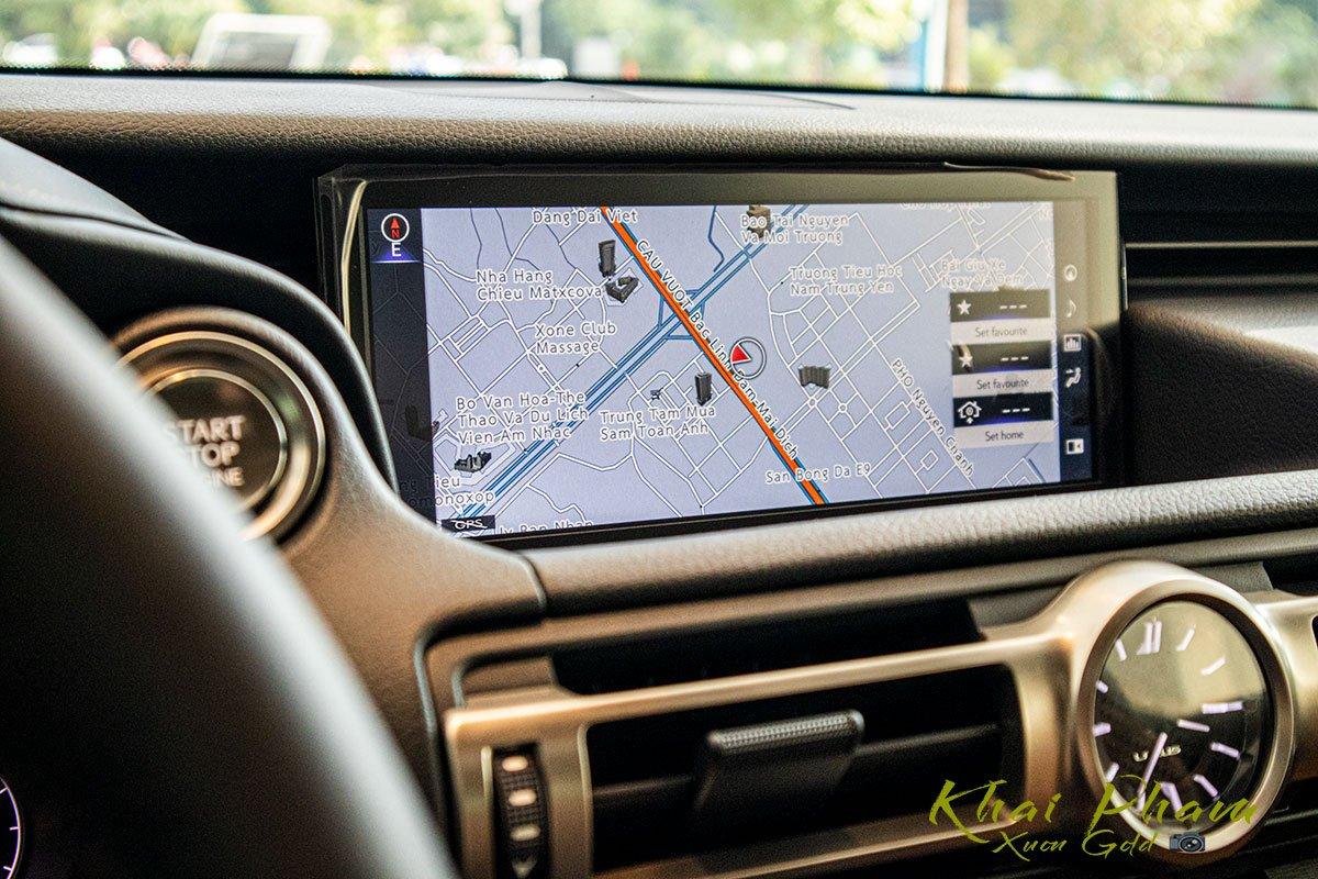 màn hình xe Lexus RC 300 2020