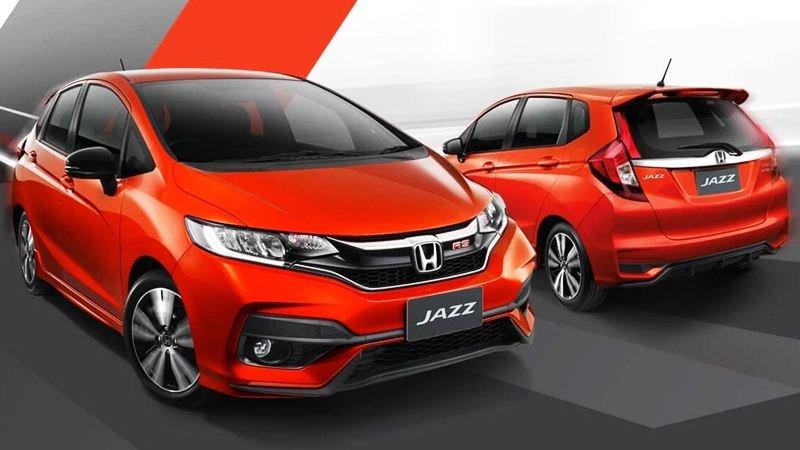 Ngoại thất xe Honda Jazz 2020
