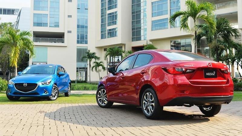 Ngoại thất xe Mazda 2 2020