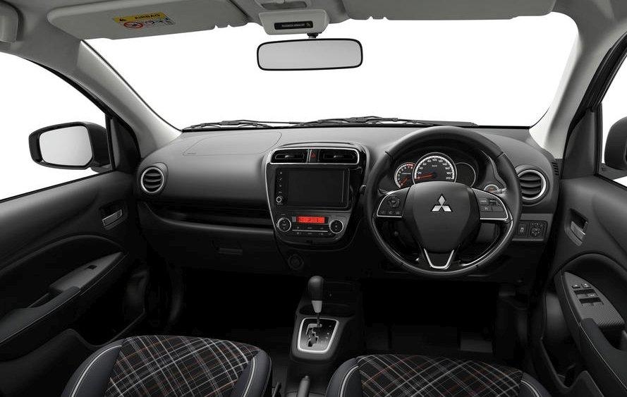 Nội thất xe Mitsubishi Attrage 2020
