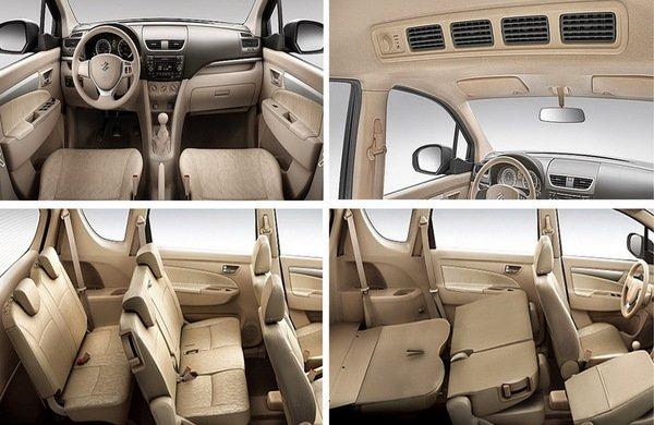 Nội thất xe Suzuki Ertiga 2020