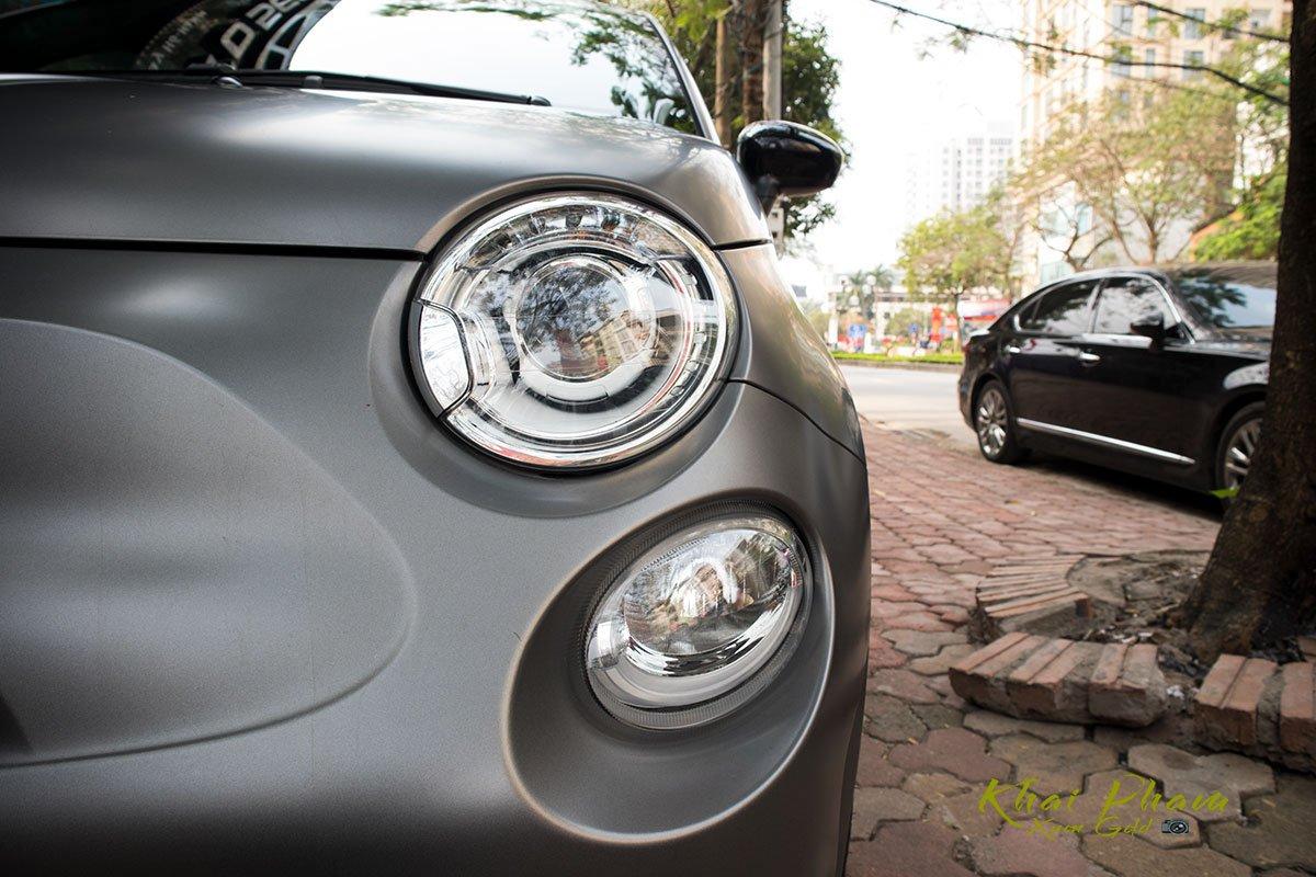 2 hình Ảnh chụp đèn pha xe Fiat 500 595 Abarth Esseesse 2020 đầu tiên về Việt Nam