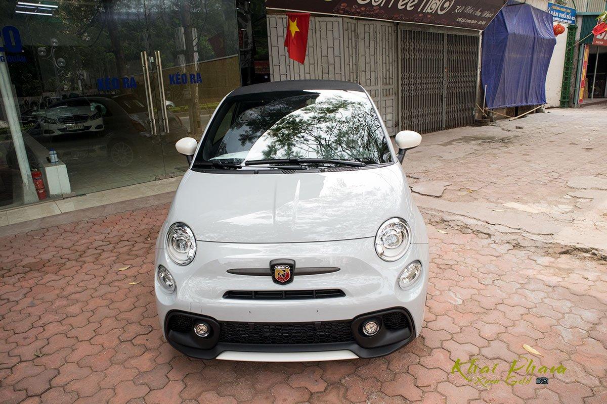 hình Ảnh chụp đầu xe Fiat 500 595 Abarth Esseesse 2020 đầu tiên về Việt Nam