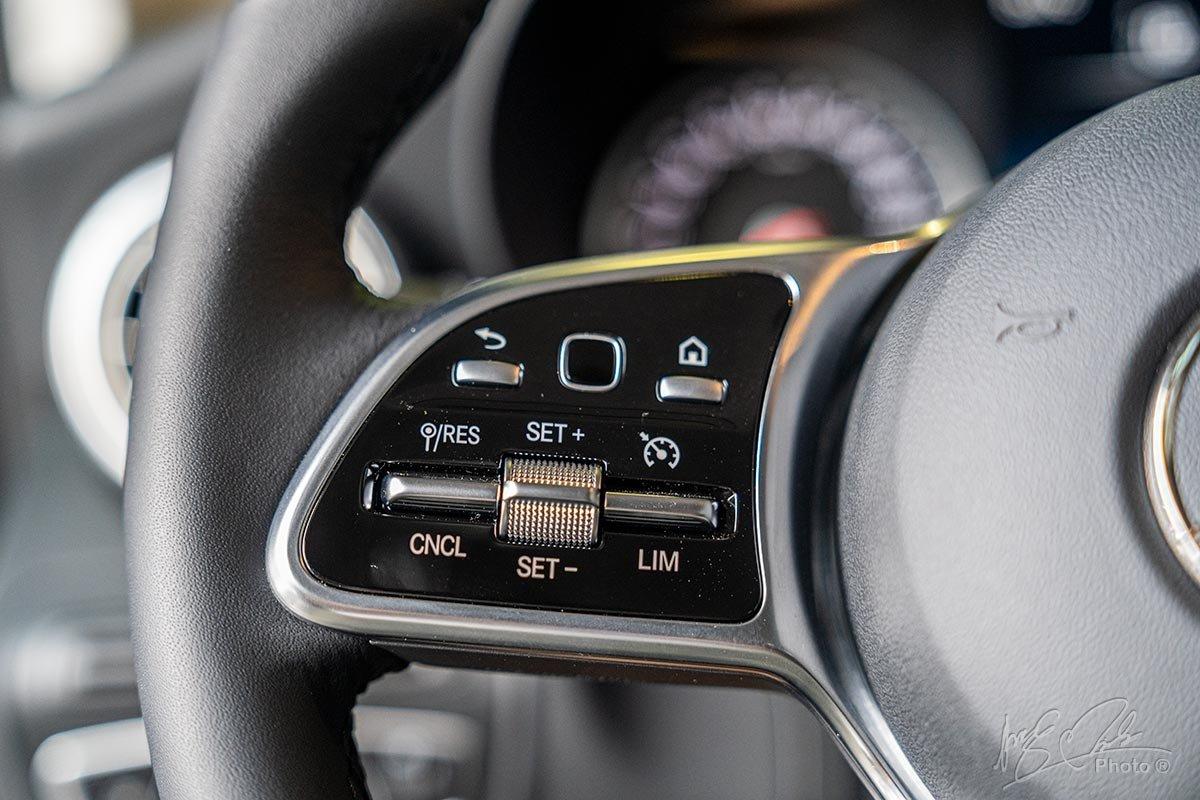 Đánh giá xe Mercedes-Benz GLC 200 2020: Hệ thống kiểm soát hành trình và giới hạn tốc độ.