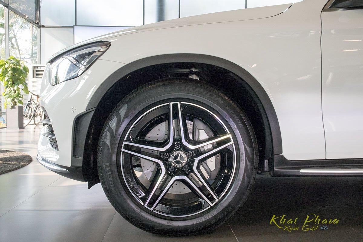 Hình ảnh la-zăng xe Mercedes-Benz GLC 300 4Matic 2020