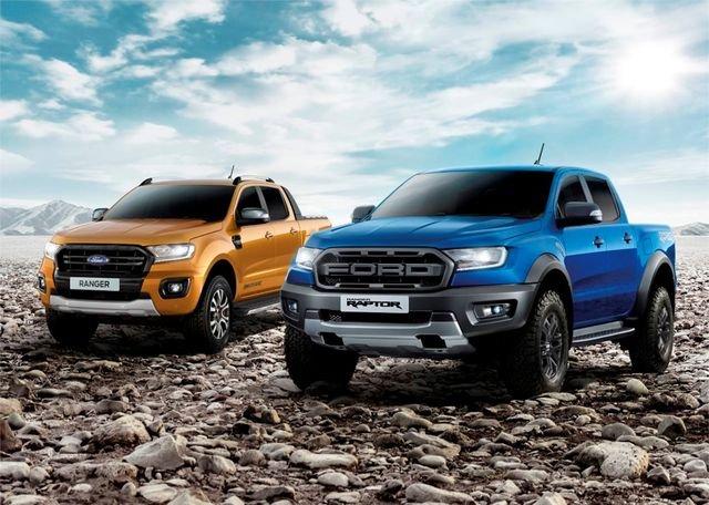 Giá xe Ford Ranger 2019 cũ