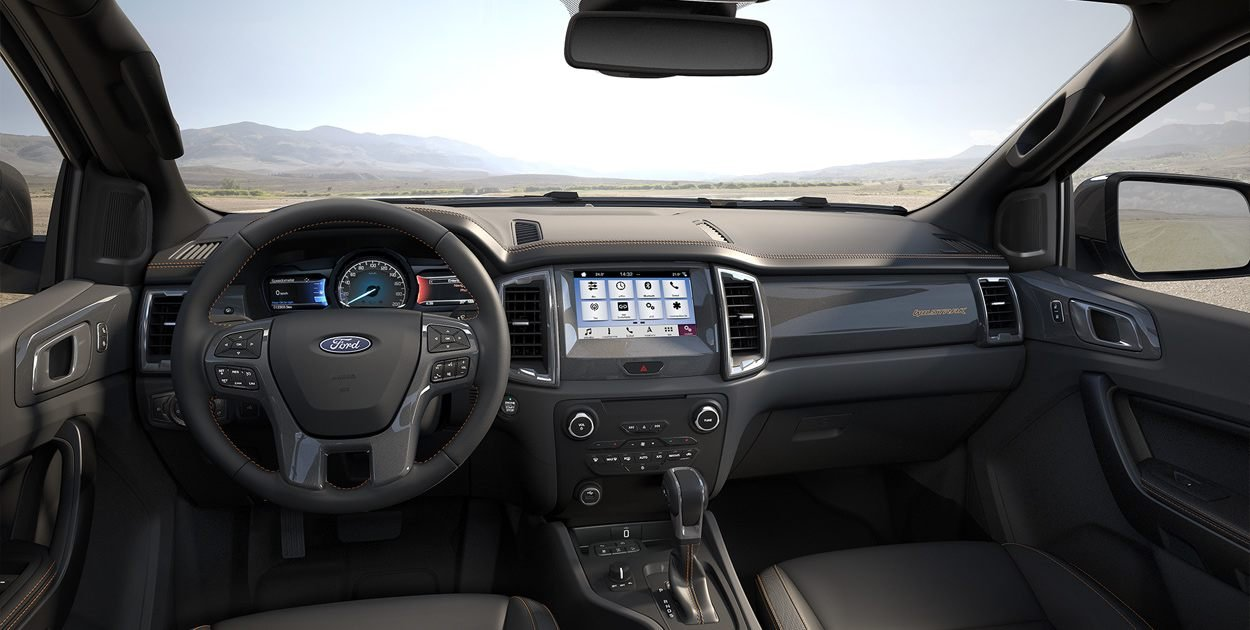 Nội thất xe Ford Ranger 2019 cũ